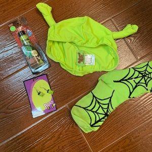 Helmet Hats Accessories - Halloween Shrek hat bundle
